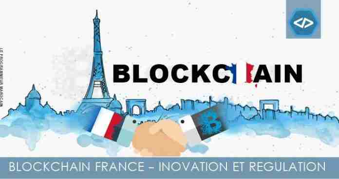 Blockchain France, innovation et régulaion
