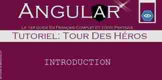 Angular Tour De Héros Introduction
