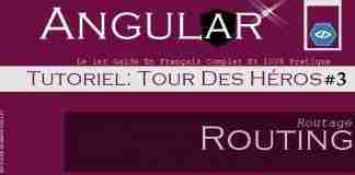 Angular -Tour De Héros-Routing