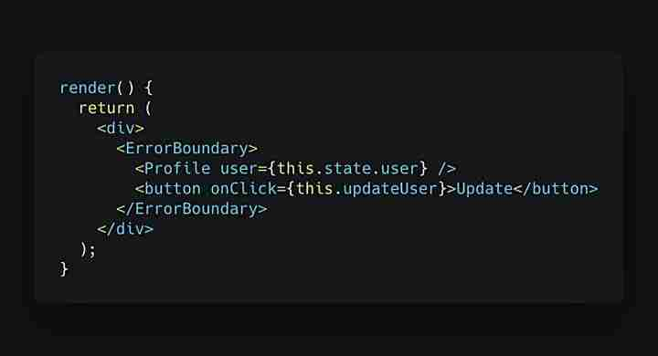 React composant ErrorBoundary
